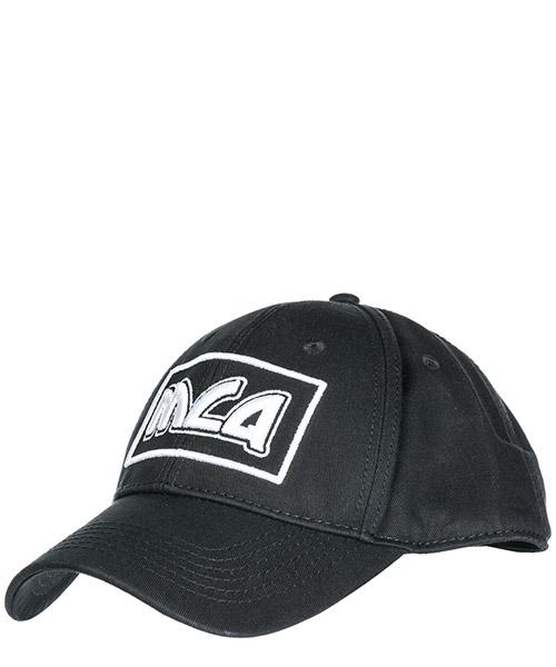 Baseball cap MCQ Alexander McQueen Metal logo 501183RGC301006 black
