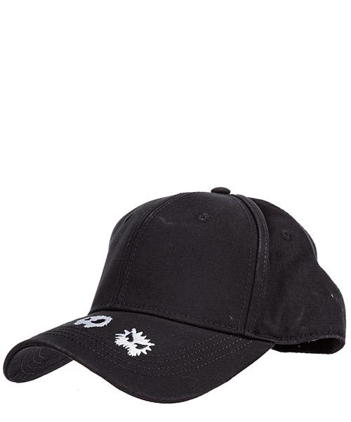 Cappello baseball MCQ Alexander McQueen 501183RGC411000 nero
