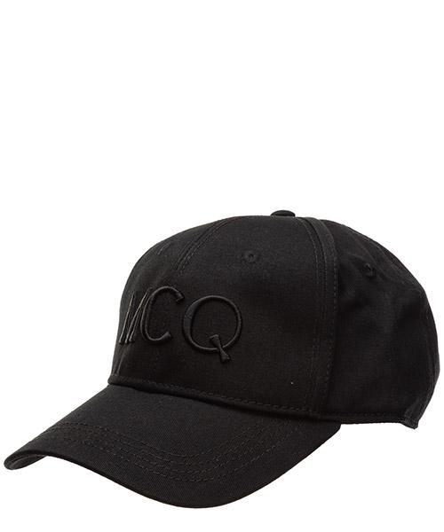 Gorras MCQ Alexander McQueen logo 501183rgc421073 black