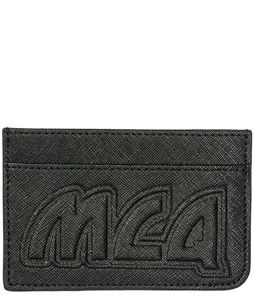 Credit card holder MCQ Alexander McQueen Metal logo 519660R4B901000 black