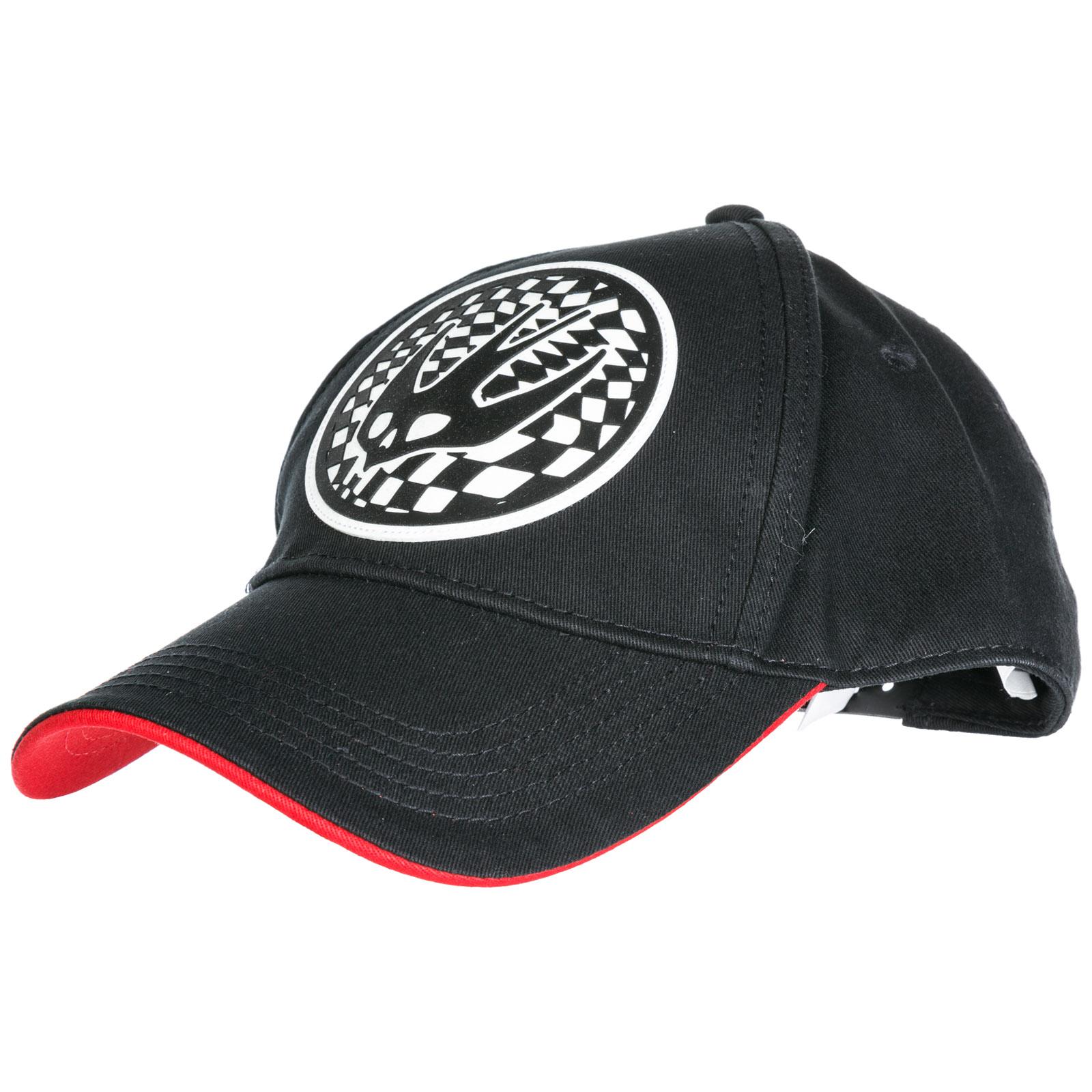 ddb657d2f Mcq By Alexander Mcqueen Adjustable Men'S Cotton Hat Baseball Cap Swallow  In Black