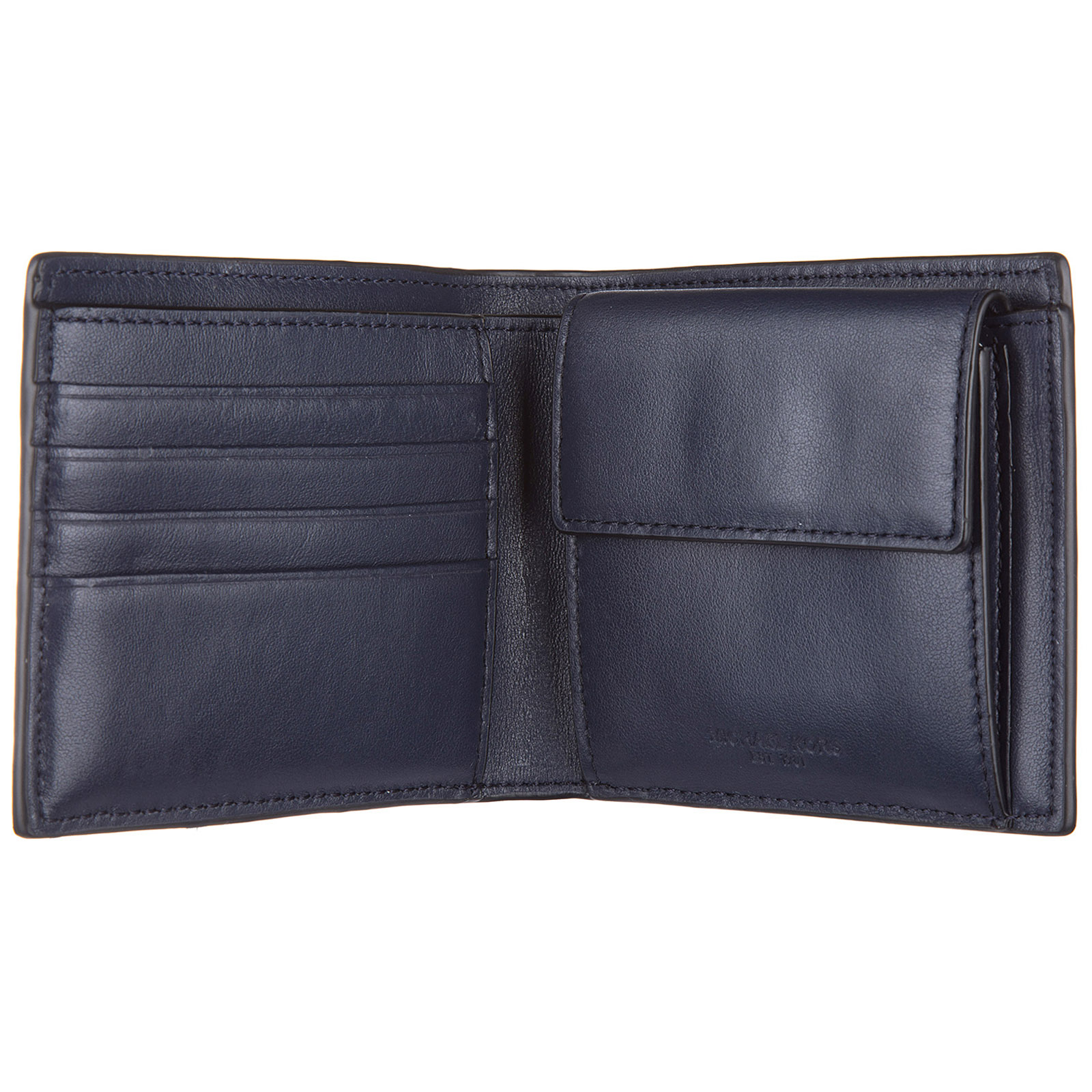 4dae43dd26a3 ... Men's wallet genuine leather coin case holder purse card bifold harrison  ...