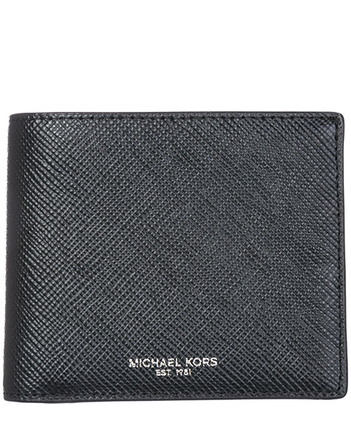 Wallet Michael Kors Harrison 39F5LHRF1L 001 black