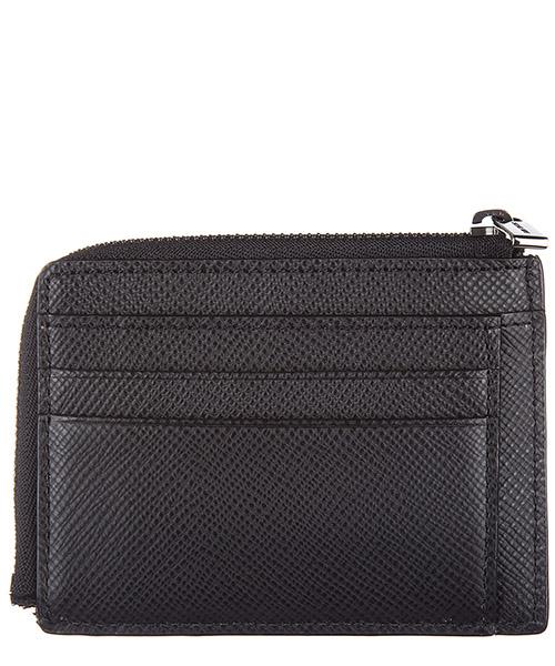 Men's genuine leather credit card case holder wallet harrison secondary image