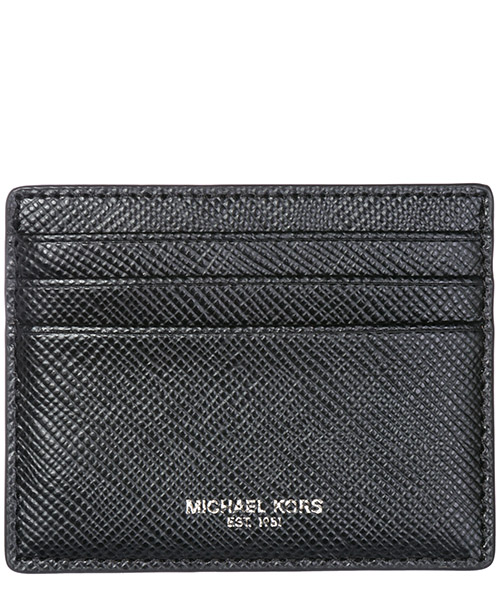 Credit card holder Michael Kors Harrison 39F6LHRD2L 001 black