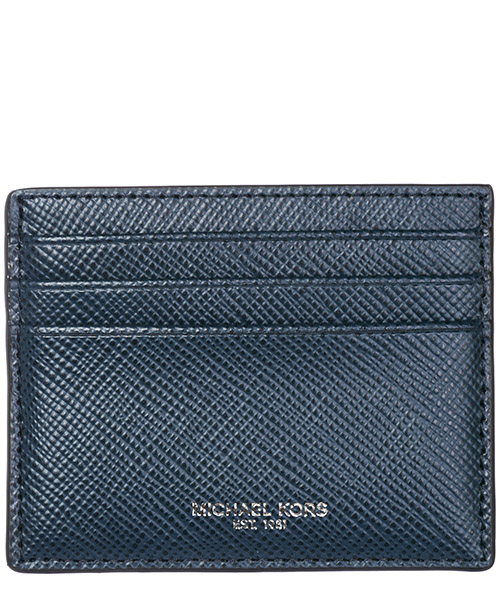 Credit card holder Michael Kors Harrison 39F6LHRD2L 406 navy