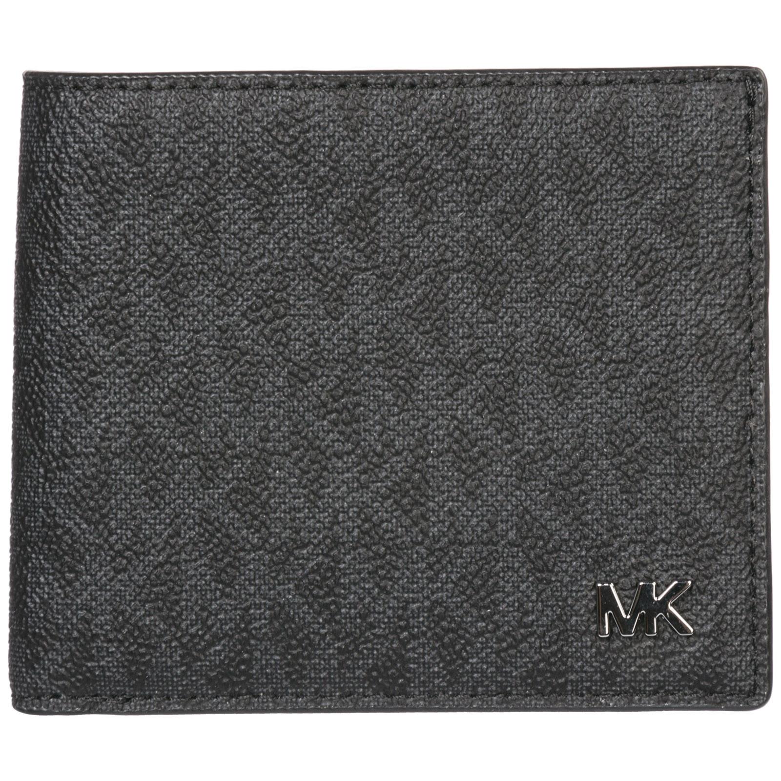 08db0247edbd Michael Kors Men s genuine leather wallet credit card bifold jet set