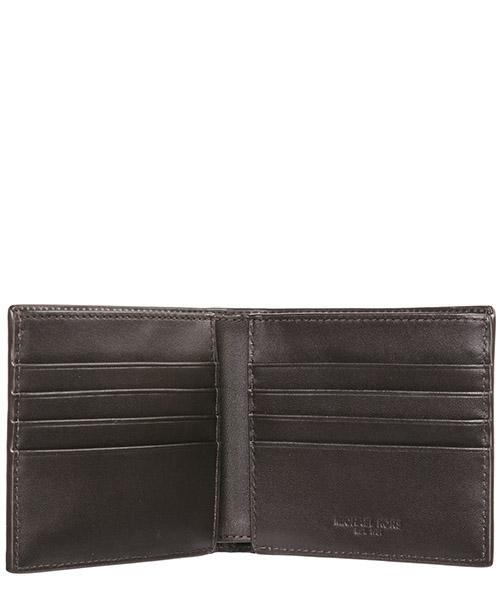 Men's genuine leather wallet credit card bifold  jet set secondary image