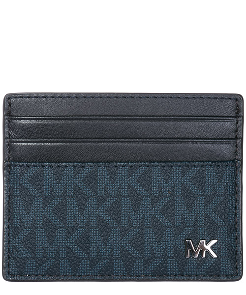Credit card holder Michael Kors Jet Set 39F7TMND2B 444 baltic blue