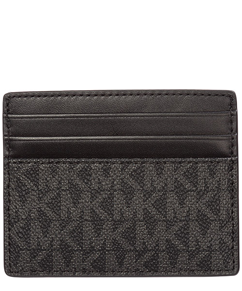 Men's genuine leather credit card case holder wallet greyson secondary image