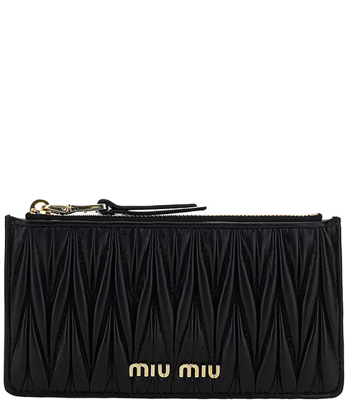 Wallet Miu Miu 5mb006_n88_f0002 nero