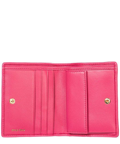 Women's wallet leather coin case holder purse card bifold secondary image