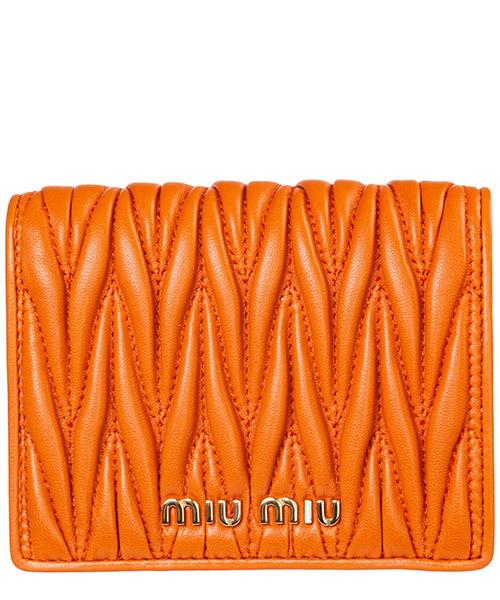 Wallet Miu Miu 5mv204_n88_f0s73 papaya