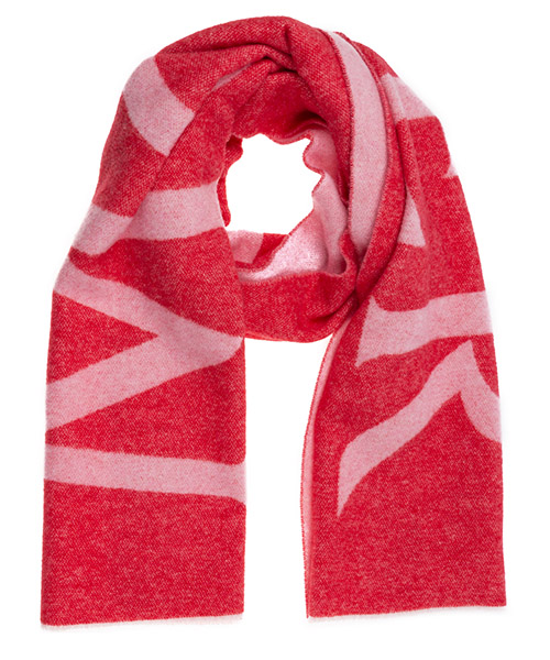 Wool scarf Moncler 0000600A0066 rosso