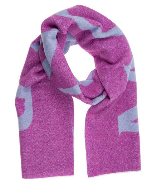 Шерстяной шарф Moncler 0000600A0066 viola