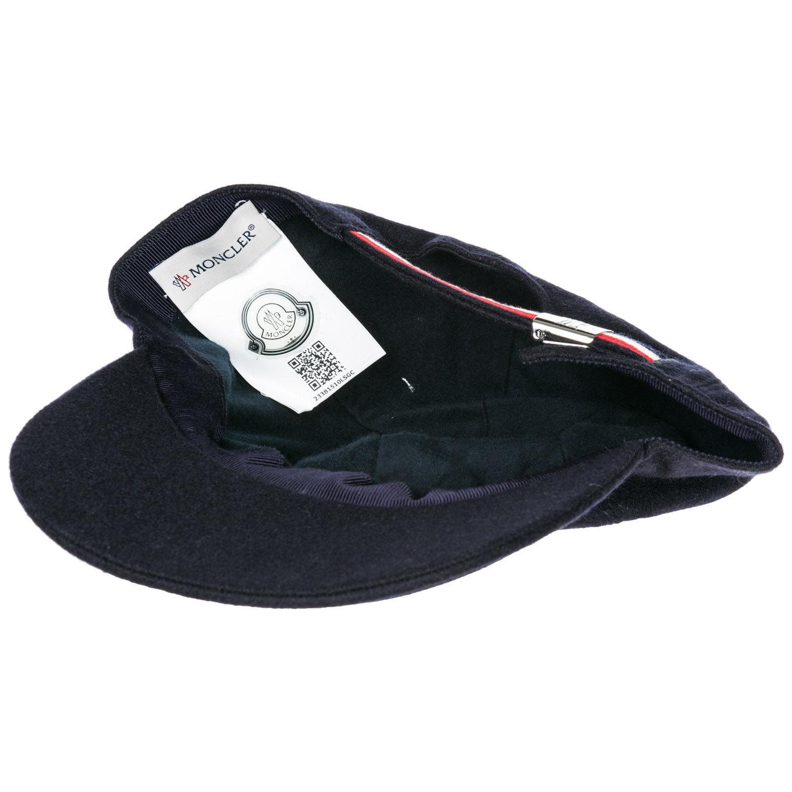ae2611249f1 Baseball cap Moncler 00967000424A742 blu navy