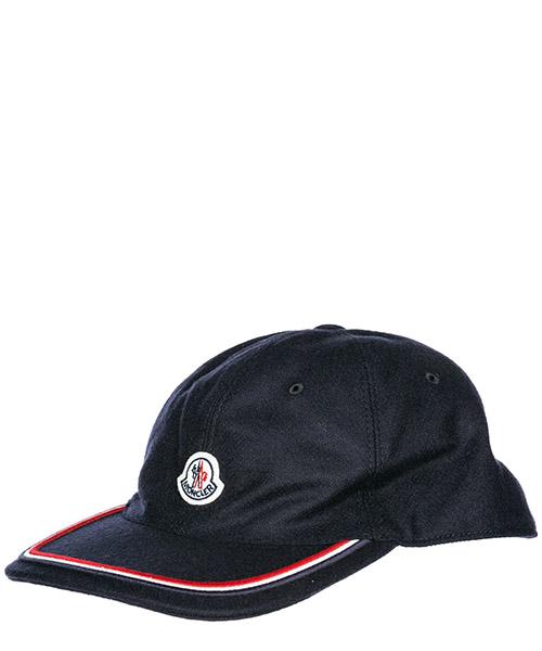 Cappello baseball Moncler 00967000424A742 blu navy