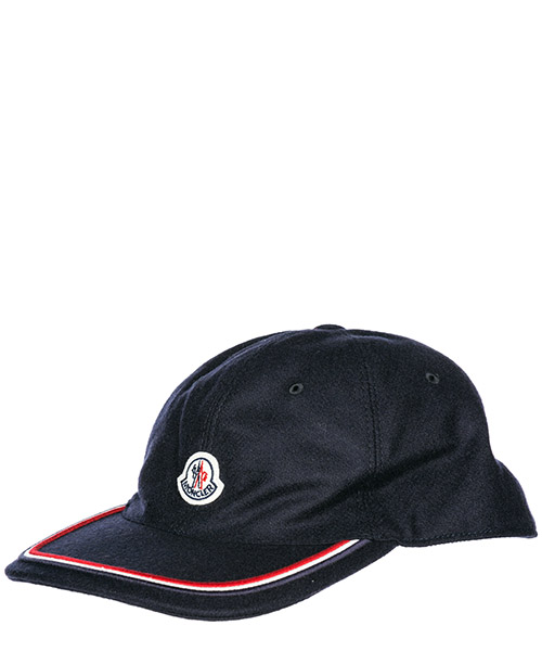 Baseball cap Moncler 00967000424A742 blu navy