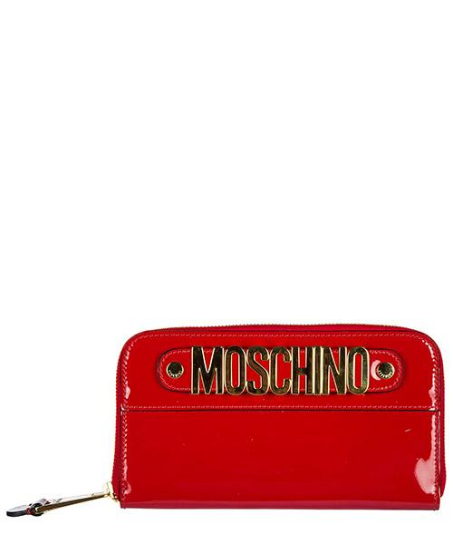 Portafoglio Moschino 7A810980061115 rosso