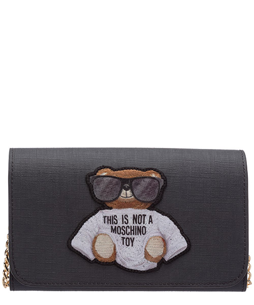 Monedero  Moschino Teddy 7 A812782101555 nero