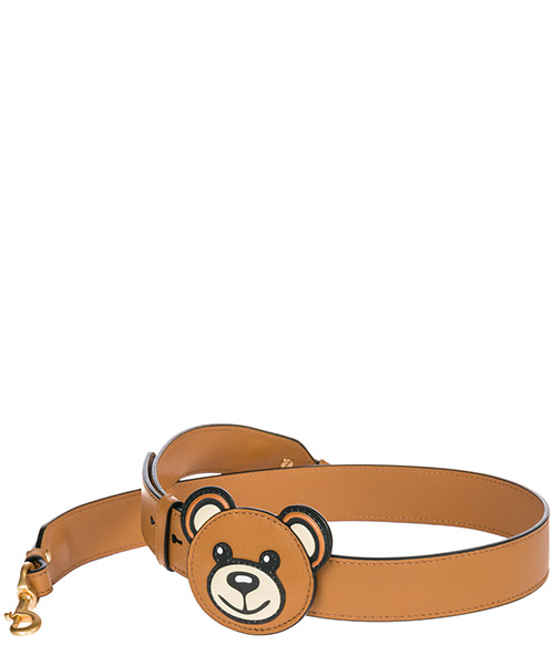Women's leather shoulder strap teddy bear secondary image