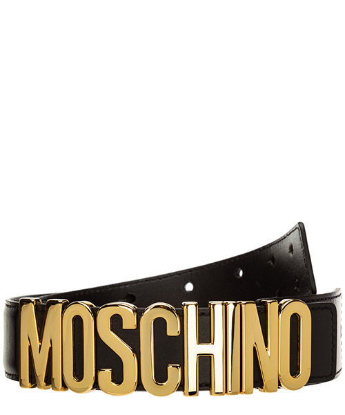 Belt Moschino A800780010555 nero