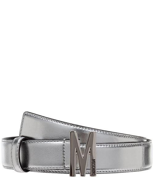 Gürtel Moschino a801980110600 argento