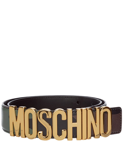 Cinturón Moschino A802780201888 verde