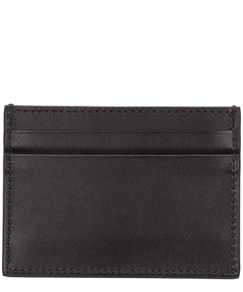 Men's genuine leather credit card case holder wallet secondary image