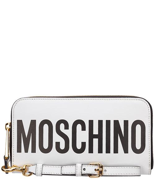 Monedero Moschino A810780011001 bianco