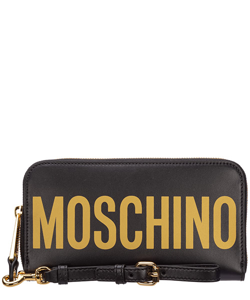 Monedero Moschino A810780012555 nero