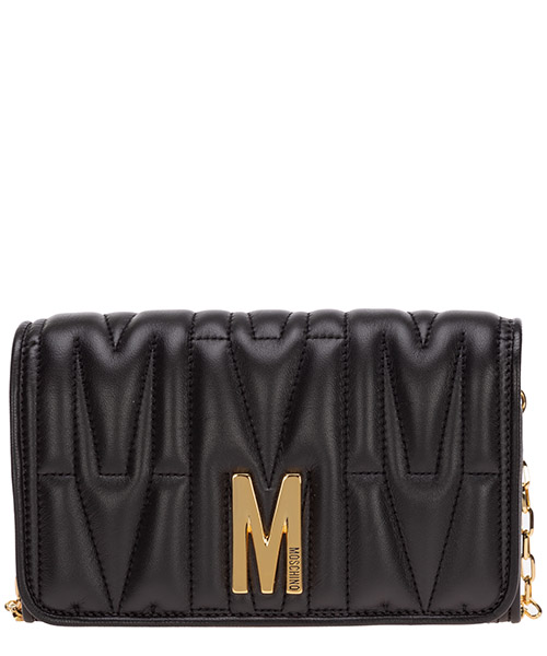 Monedero Moschino A811780021555 nero
