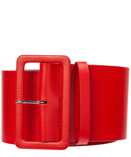 Ceinture MSGM 2742mdy101 195991 18 rosso