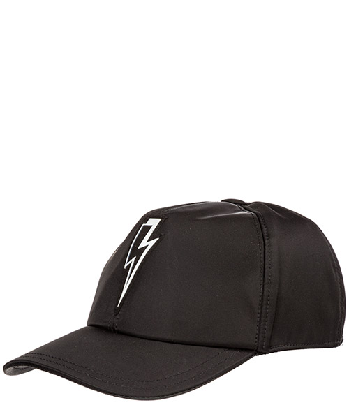 Cappello baseball Neil Barrett Bolt Badge PBCP301BM9502 01 nero