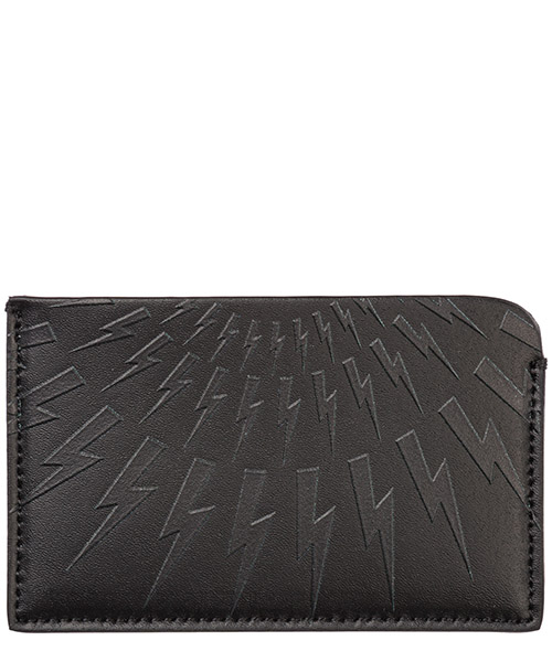 Credit card holder Neil Barrett Thunderbolt fair-isle PBSG300AM9201101 nero