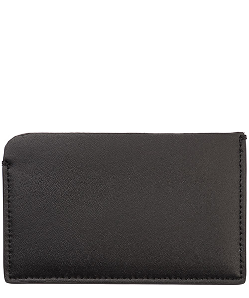 Men's genuine leather credit card case holder wallet thunderbolt fair-isle secondary image