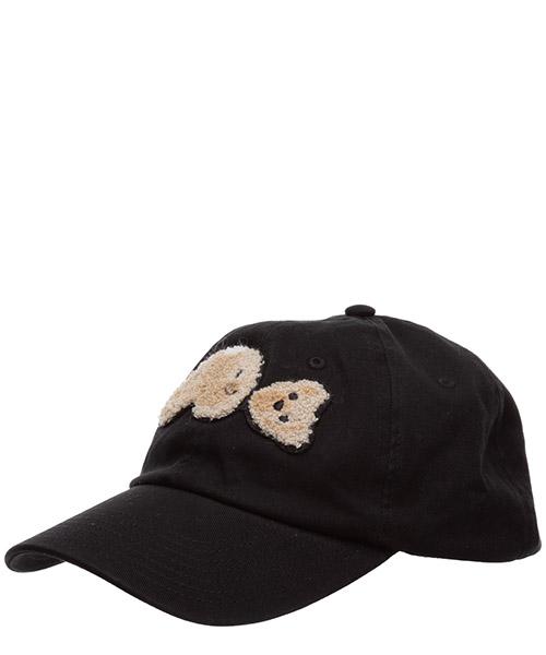 Baseball cap Palm Angels bear fringed PMLB003E20FAB0081060 black