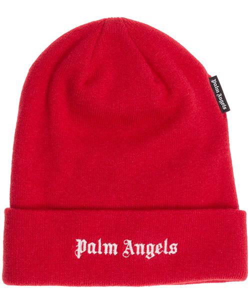 Mütze Palm Angels logo pmlc012f20kni0012501 rosso