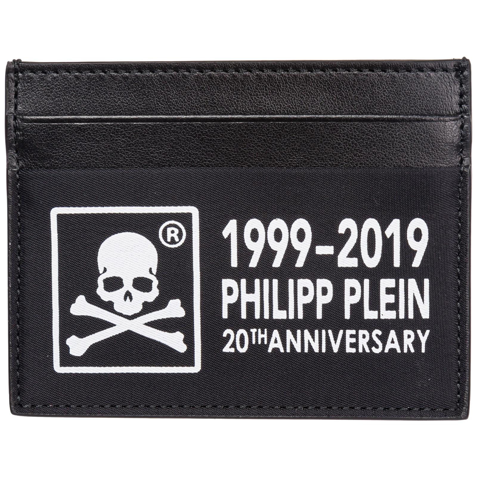 l'atteggiamento migliore fbc6f 4515f Porta carte di credito portafoglio uomo pelle anniversary 20th