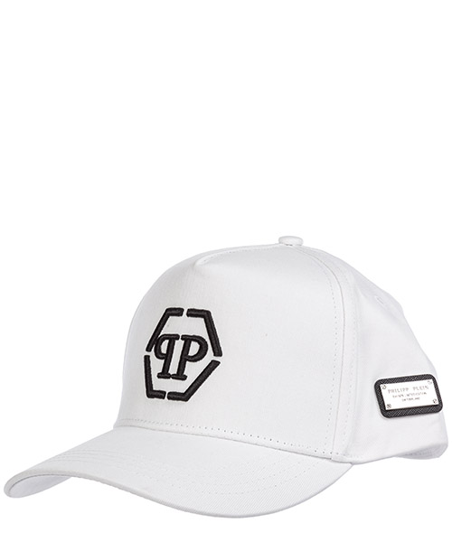 Cap Philipp Plein hexagon a19a mac0503 pte003n white