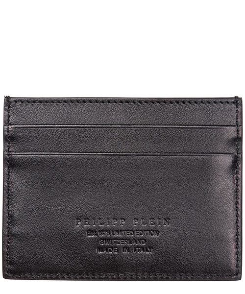 Men's genuine leather credit card case holder wallet anniversary 20th secondary image