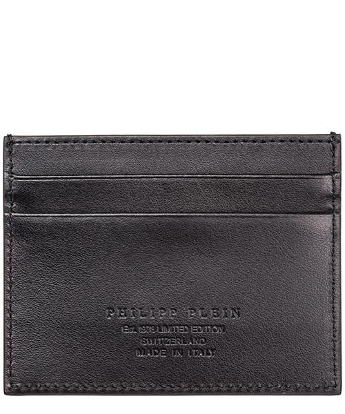 Men's genuine leather credit card case holder wallet pp1978 secondary image
