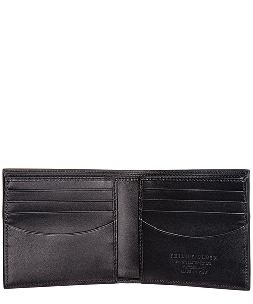 Men's genuine leather wallet credit card bifold  anniversary 20th secondary image