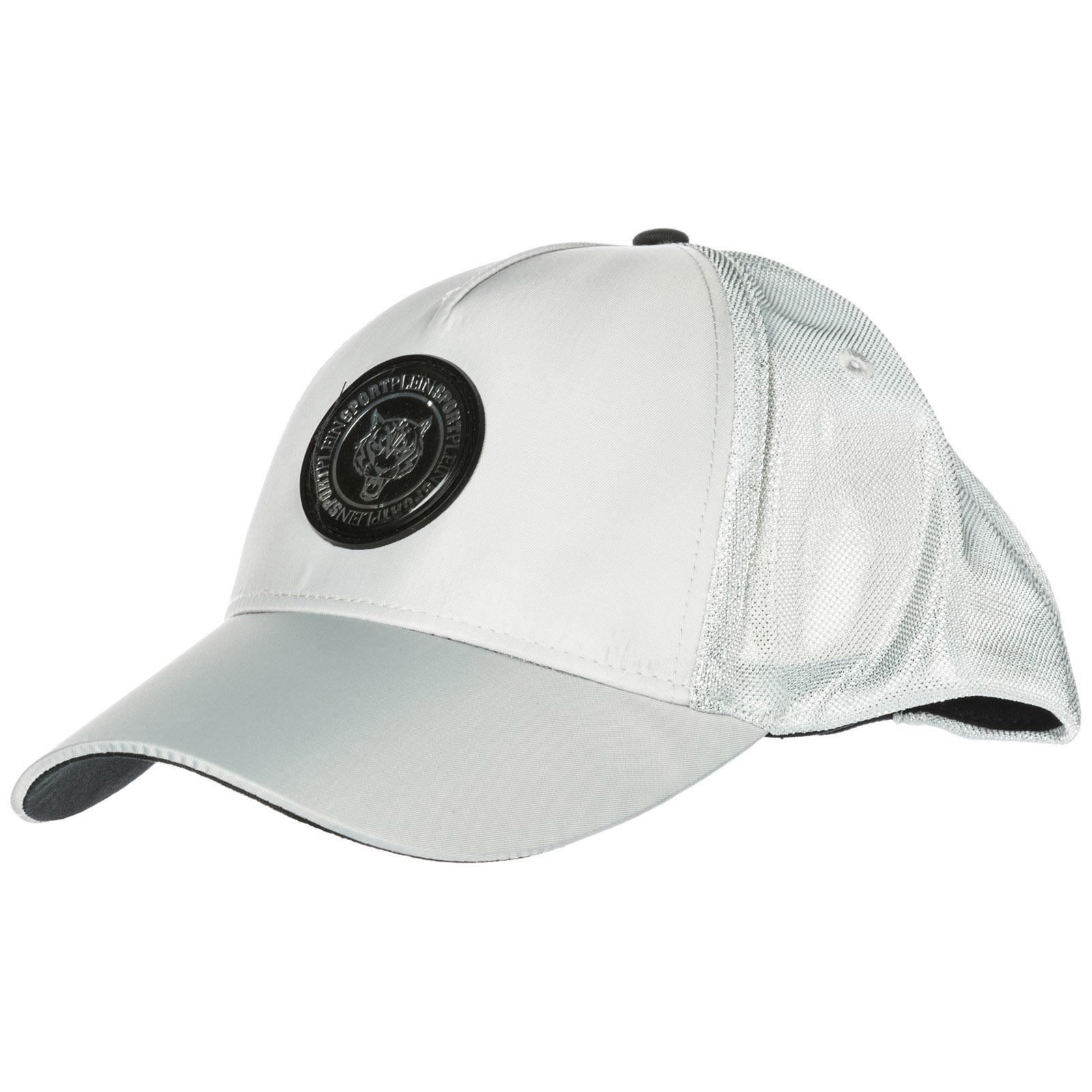 PLEIN SPORT ADJUSTABLE MEN'S HAT BASEBALL CAP  FOREVER FROZEN