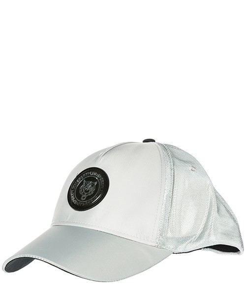 Cappello baseball Plein Sport Forever frozen F18A-MAC0236-STE008N argento