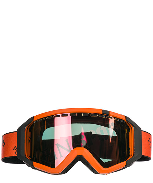 Masque de ski Plein Sport MEG0003 STE003N orange / grey / fume / nk