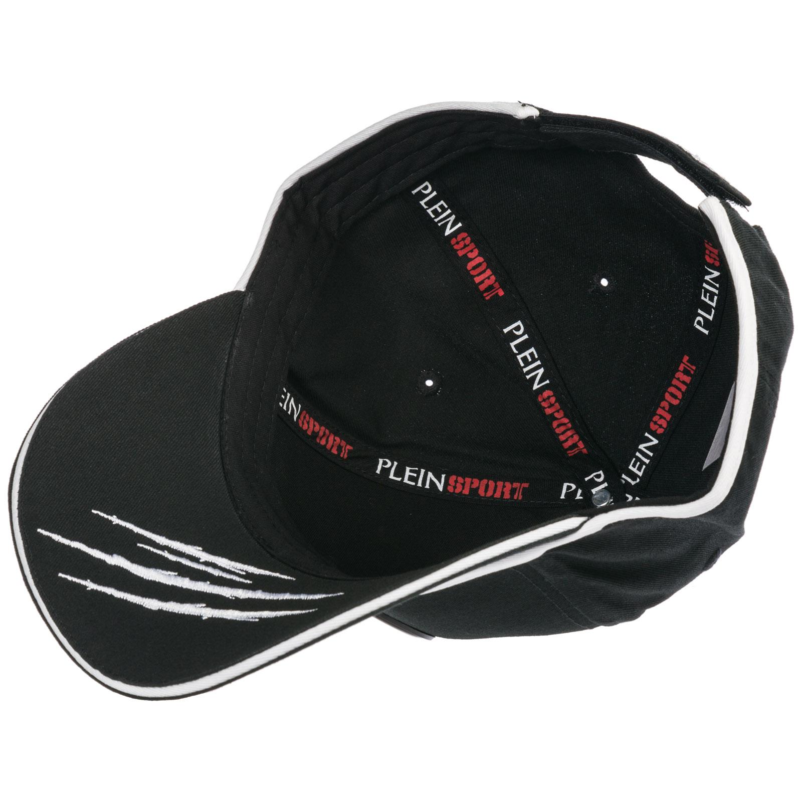 97463dcdbae Baseball cap Plein Sport P19A MAC0394 STE003N black   white