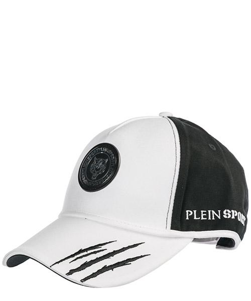 Baseball cap Plein Sport P19A MAC0381 STE003N black / white