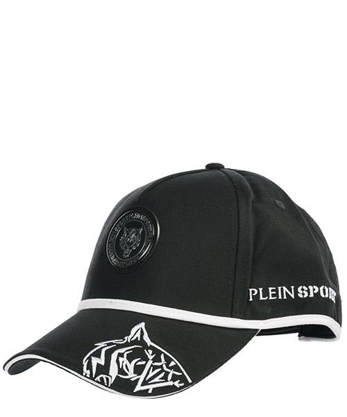 Baseball cap Plein Sport P19A MAC0394 STE003N black / white