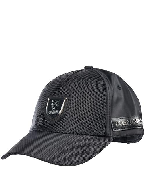 Casquette baseball Plein Sport Visor S19A MAC_0359 STE003N black
